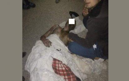 Kasserine: Un garde national limogé met le feu à son corps
