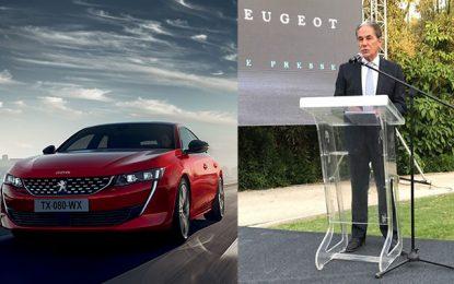 Automobile : Stafim lance sur le marché tunisien la Peugeot 508, sacrée belle de l'année 2018