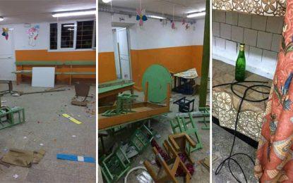 Menzel Bouzelfa: Une maternelle publique vandalisée peu de temps après sa restauration