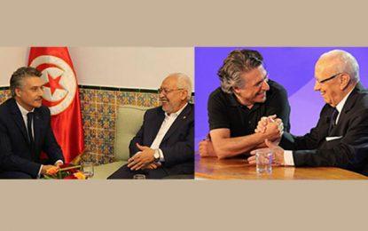 Nabil Karoui, l'homme lige de Béji Rached Essebsi et Rached Caïd Ghannouchi