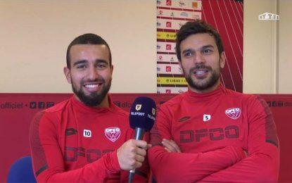 Naim Sliti et Oussama Haddadi rêvent de maintien en Ligue 1
