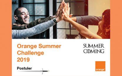La 9e édition de l'Orange Summer Challenge en juillet et août 2019