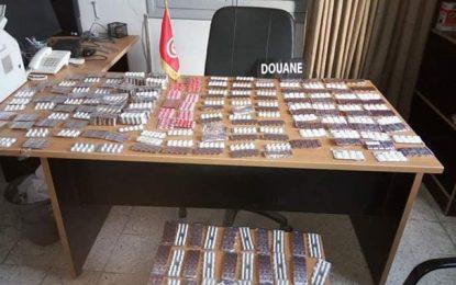 Saisie de 3341 psychotropes délivrés sans ordonnance à des dealers par des pharmacies de Sfax !