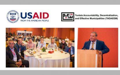 Projet Tadaeem de l'USAid, en soutien aux municipalités tunisiennes