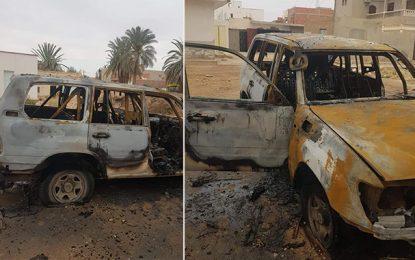 Tatatouine: Des inconnus mettent le feu à la voiture d'un cadre de la douane