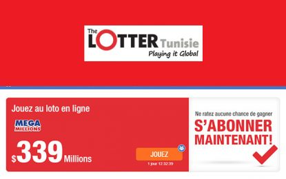 Les Tunisiens peuvent aussi remporter 339 millions $ au Mega Millions !