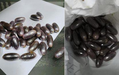 Tunis : Une Tunisienne rentre du Maroc avec 46 capsules de drogue dans l'estomac