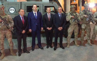 Bir Bouregba : Chahed et Fourati rendent hommage aux «héros de Sidi Ali Ben Aoun»