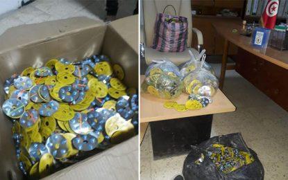 Dhehiba: Saisie de près de 10.000 pilules de viagra de contrebande, en provenance de Libye