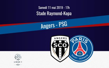 Angers-PSG 2019 en live streaming