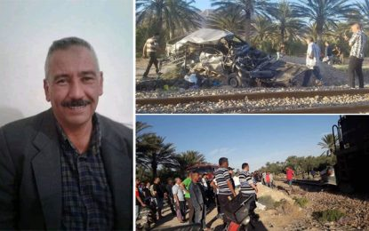 Gafsa : Deux morts dans un accident de train de transport de phosphate