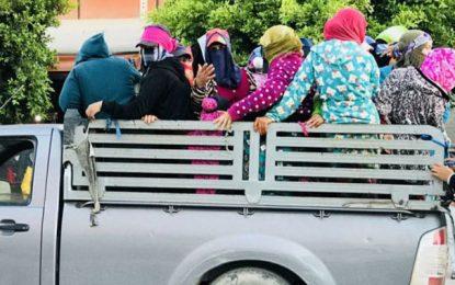 Médenine : Six ouvrières agricoles blessées dans un accident de la route