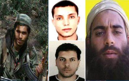 Ministère de l'Intérieur: Avis de recherche de 4 dangereux terroristes