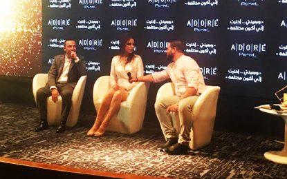 Dorra Zarrouk, nouvelle ambassadrice de la marque de lentilles cosmétiques Adore