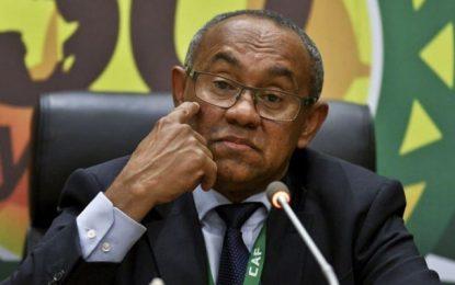 La CَAF sort de son silence et commente l'affaire de son président Ahmad Ahmad