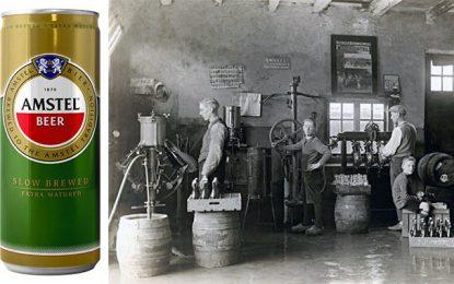 Sonobra annonce l'arrivée en Tunisie de la  légendaire bière Amstel