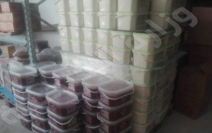 Ariana : Des tonnes de produits alimentaires pourris saisies à la Soukra