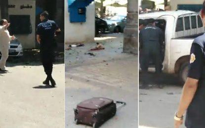 Explosion au centre-ville de Tunis: Un attentat kamikaze à l'entrée de la rue Charles-de-Gaulle