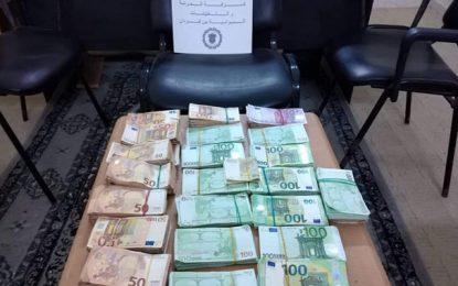 Ben Guerdane : Un Libyen arrêté en possession illégale de 223.000 euros