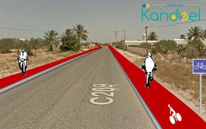 «Mobilité douce» à Djerba: Bientôt une piste cyclable de 120 km