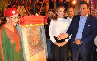 Souad Abderrahim se rachète et inaugure une place Ibn Arabi à El-Manar 2