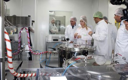 Saiph inaugure une nouvelle unité de fabrication de médicaments injectables lyophilisés et ophtalmiques stériles