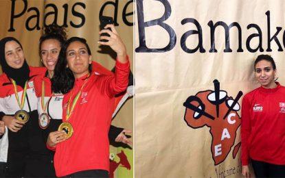 Inès Boubakri championne d'Afrique d'escrime, 3e médaille d'or pour la Tunisie