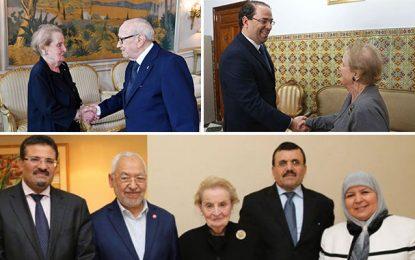 Que vient faire l'infréquentable Mme Albright en Tunisie ?
