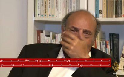 Décès de Mohamed Morsi : Les larmes de Moncef Marzouki en direct sur Al-Jazeera (vidéo)