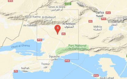 Gafsa : Secousse tellurique d'une magnitude de 4,7 enregistrée à Métlaoui