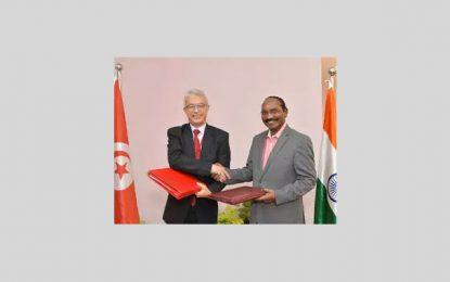 Partenariat entre la Tunisie et l'Inde dans le domaine spatial