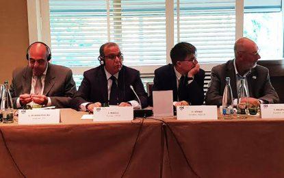 Samir Majoul au forum de l'Organisation internationale des employeurs à Genève