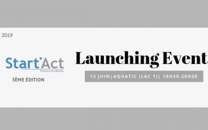 Lancement de la 3e édition de Start'Act, en plus du Capital'Act Seed Fund