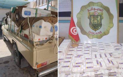 Tatatouine : Un contrebandier en provenance de Libye, arrêté en possession de 14.000 pilules de médicaments utilisés comme drogue