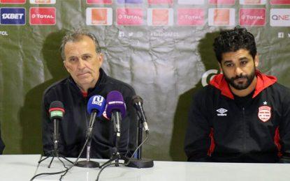 Club africain : Victor Zvunka perd le match contre les joueurs