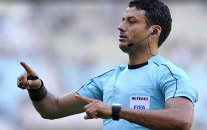 CAN 2019 : L'arbitre tunisien Youssef Serairi entre en scène ce soir