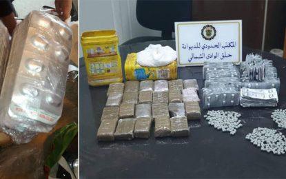 Port de la Goulette : Cocaïne, cannabis, subutex et ecstasy dans des boîtes de chocolat en poudre