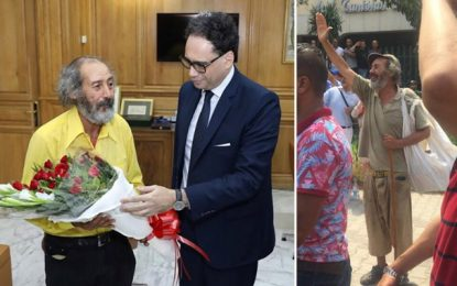Il avait ému la Tunisie lors du cortège funèbre de Caïd Essebsi, l'artiste bohémien Abdelhamid Ammar honoré par le ministre des Affaires culturelles (Photos)