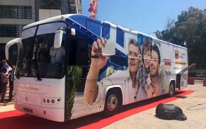 Attijari Bank : une agence mobile pour aller à la rencontre des Tunisiens résidant à l'étranger
