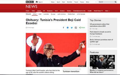 BBC : «Caid Essebsi a largement contribué au maintien de la stabilité en Tunisie, mais il était trop autoritaire face aux problèmes de sécurité»