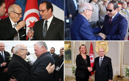 Décès du président Béji Caïd Essebsi : Réactions dans le monde