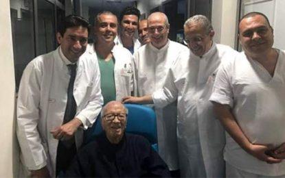 Béji Caid Essebsi de nouveau hospitalisé dans un état grave : L'Etat tunisien en apnée !