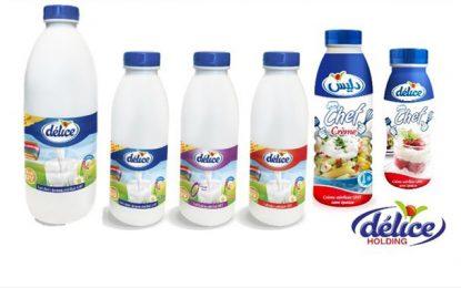 Délice Holding lance l'emballage PEHD de ses produits laitiers