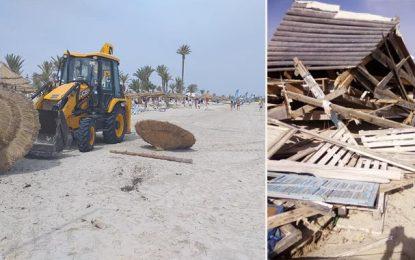 Djerba-Midoun : Les plages enfin rendues aux baigneurs (Photos)