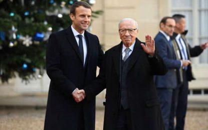 Le président Emmanuel Macron prendra part aux obsèques de Béji Caïd Essebsi