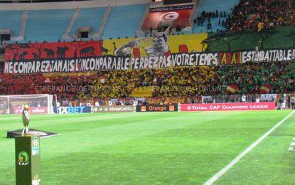 Ligue des champions : Les supporteurs de l'Espérance de Tunis sont avertis