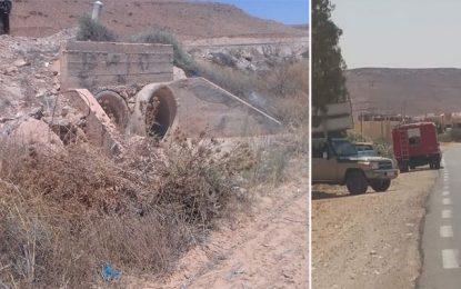 Ghomrassen : Découverte d'un corps en décomposition dans un canalisation d'eau