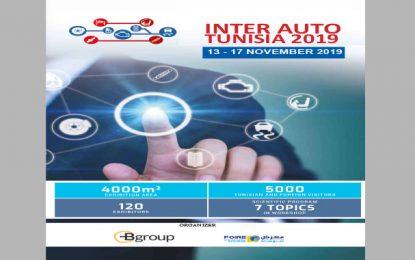 Salon : Inter Auto Tunisia 2019, du 13 au 17 novembre 2019, à la Foire internationale de Sousse