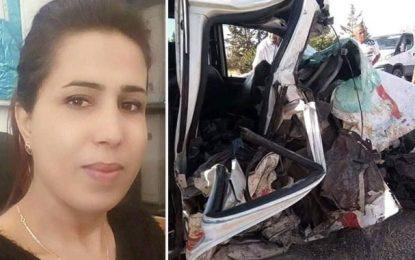 Accident de Hajeb Layoun : Décès d'une 4e personne, 2 autres en soins intensifs
