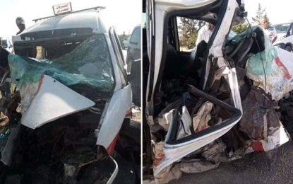 Kairouan : Trois morts et 8 blessés dans un accident de la route